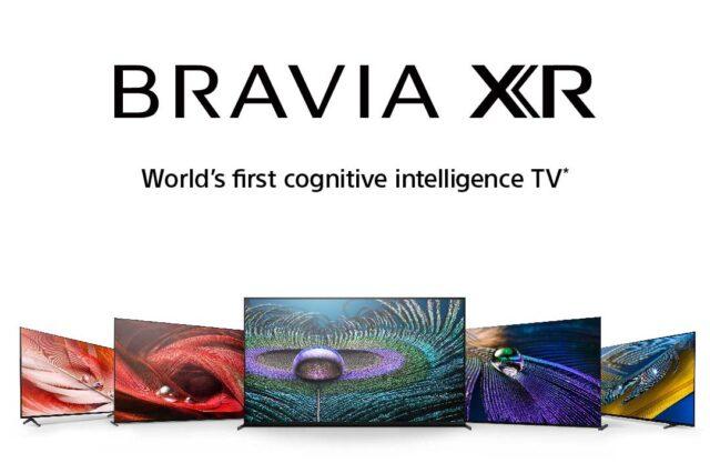 """BRAVIA XR: Sony annuncia i nuovi modelli  con """"Cognitive Processor XR"""""""