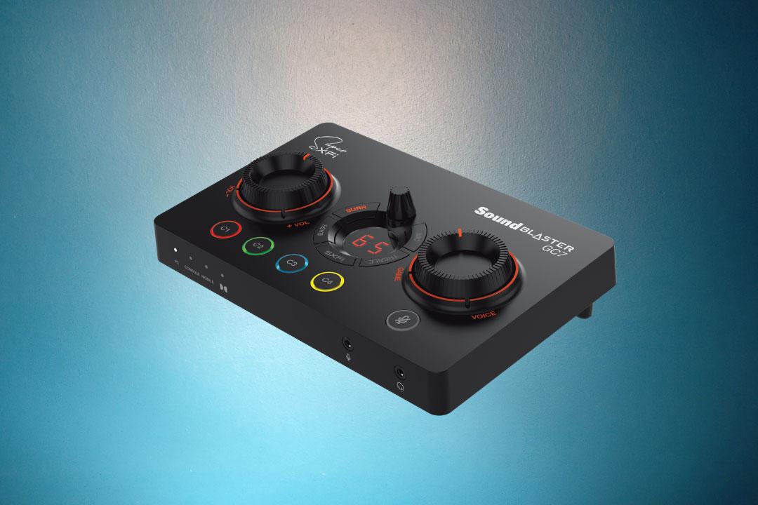 Creative Sound Blaster GC7: DAC USB e amplificatore con Super X-Fi