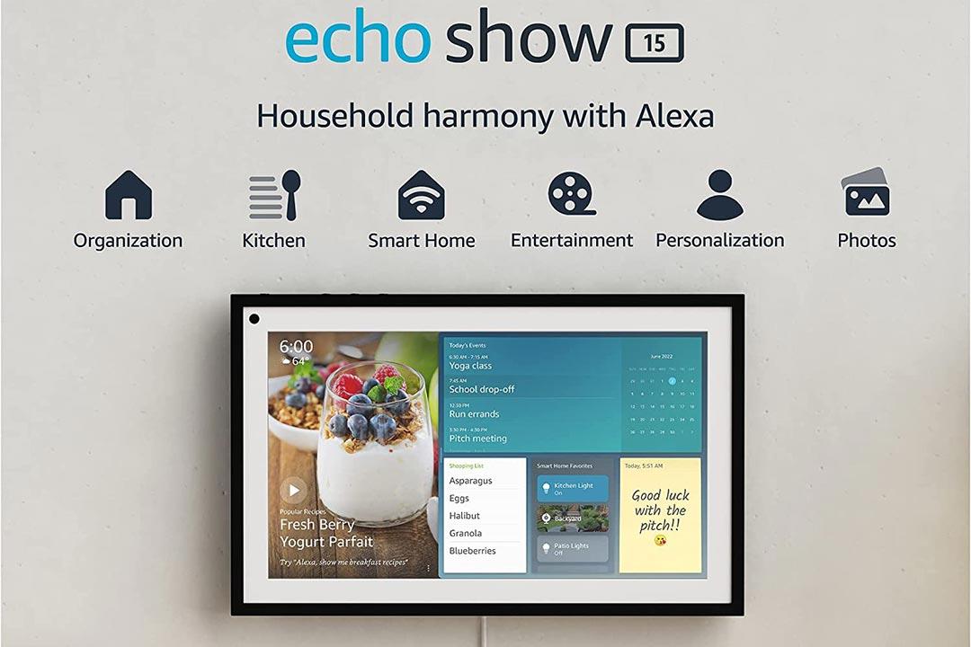 Amazon presenta Echo Show 15: più grande, più smart!