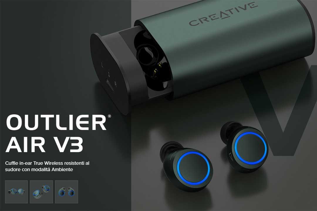Creative Outlier Air V3: tante novità ad un prezzo molto aggressivo
