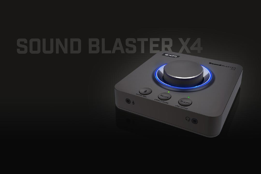 Creative Sound Blaster X4: la scheda audio tuttofare