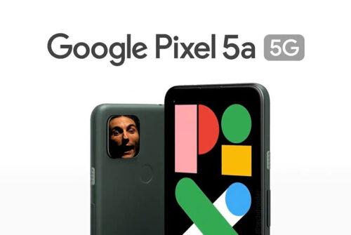 Google Pixel 5a 5G ufficiale: così, de botto, senza senso