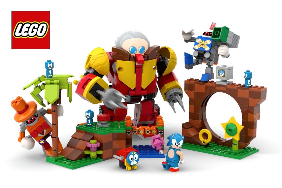 Lego Ideas Sonic Mania Green Hill Zone: dai pixel ai mattoncini!