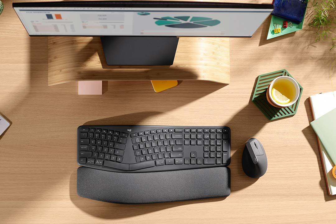Logitech ERGO: mouse e tastiera per il massimo comfort