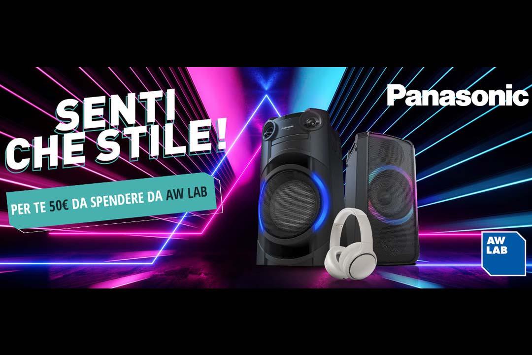Senti Che Stile! La nuova collaborazione tra Panasonic e AW LAB