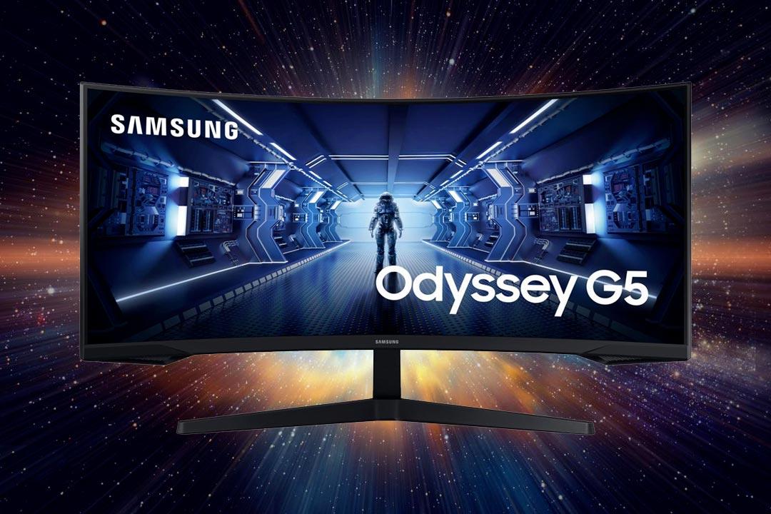 Samsung Odyssey G5: nuovo monitor gaming da 34″ a 165 Hz