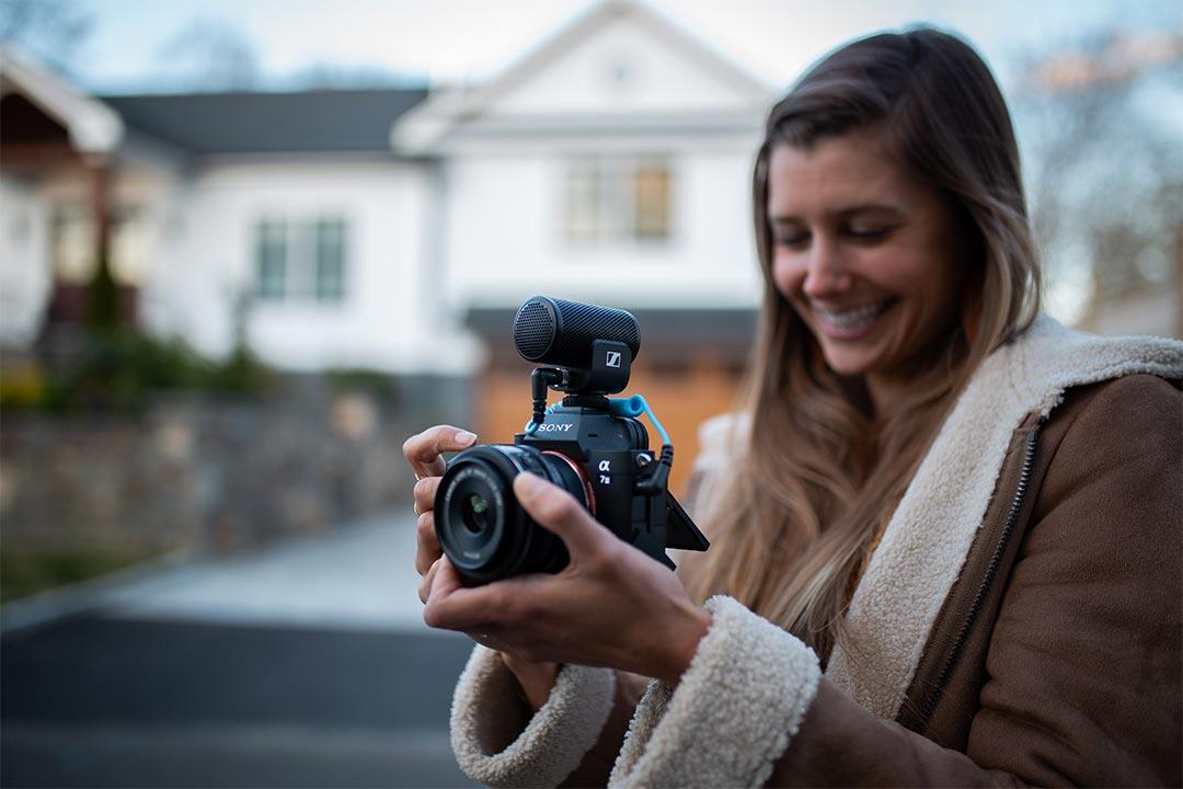 Sennheiser MKE 200: il microfono direzionale per vlogger in erba