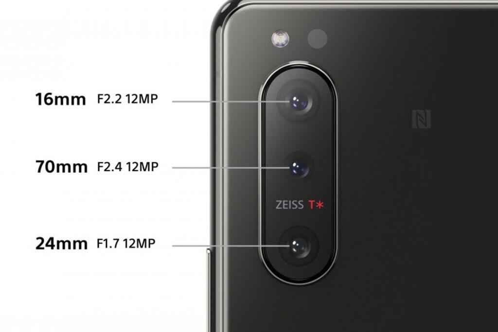 Sony Experia 5 II Fotocamere