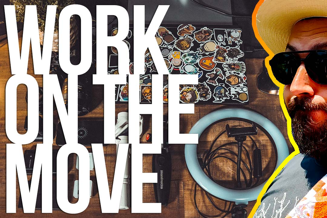 Work on the move: i miei gadget tech per lavorare in vacanza!